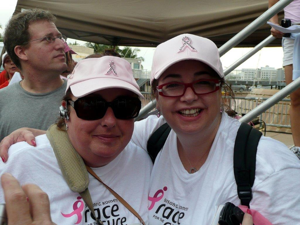 #fattofabover50 #meandmary #komen